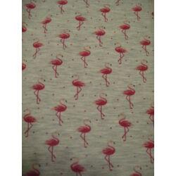 szürke flamingós  3/4-es vékony cicanadrág
