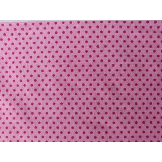 rózsaszín pöttyös 3/4-es cicanadrág